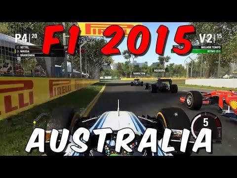 F1 2015 [PC] - Australia - Albert Park - Felipe Massa - Dificuldade Legend