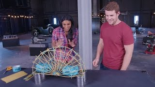 Educational Activities for Kids: Spaghetti Bridges