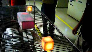 Space Shuttle Thermal Tile Demonstration