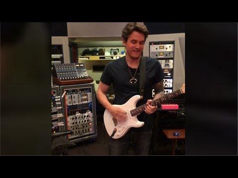 John Mayer  Plays Silver Sky PRS Signature Guitar