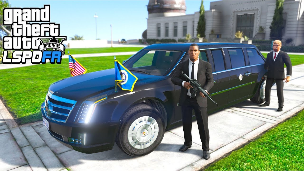 GTA 5 - LSPDFR Ep483 - Presidential Escort in 'The Beast'!! by Iggy Fresh