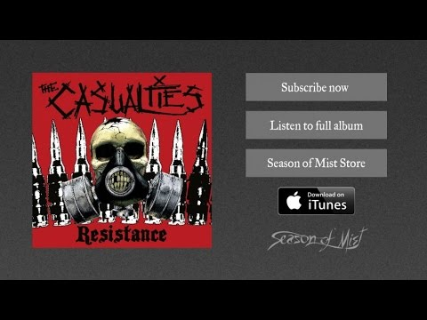 THE CASUALTIES - Warriors on the Road