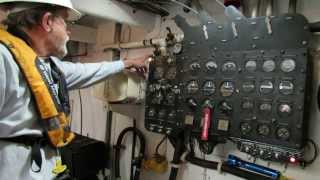 PT Boat Engine Pre Startup Engine Checks Higgins PT658 Portland OR