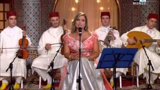 Rym Hakiki  2M Maroc noevent 2014 ريم حقيقي الجزائرية