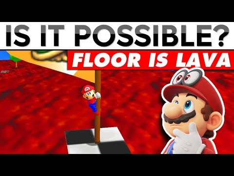 THE FLOOR IS LAVA IN MARIO 64 (#1) | Is It Possible?