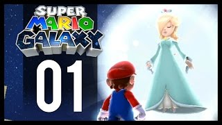 Super Mario Galaxy Gameplay - Part 1 - Rosalina (Wii Let's Play)