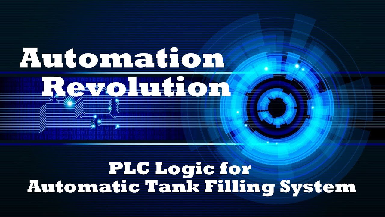 PLC Programming for Automatic Tank Filling System in Process Industries