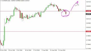 EUR/GBP Technical Analysis for September 2 2016 by FXEmpire.com