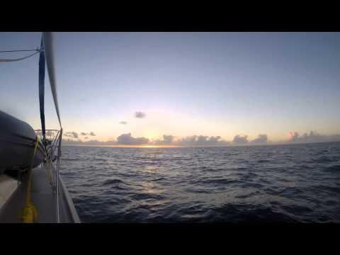Sailing Journey - Bahamas Bank Crossing