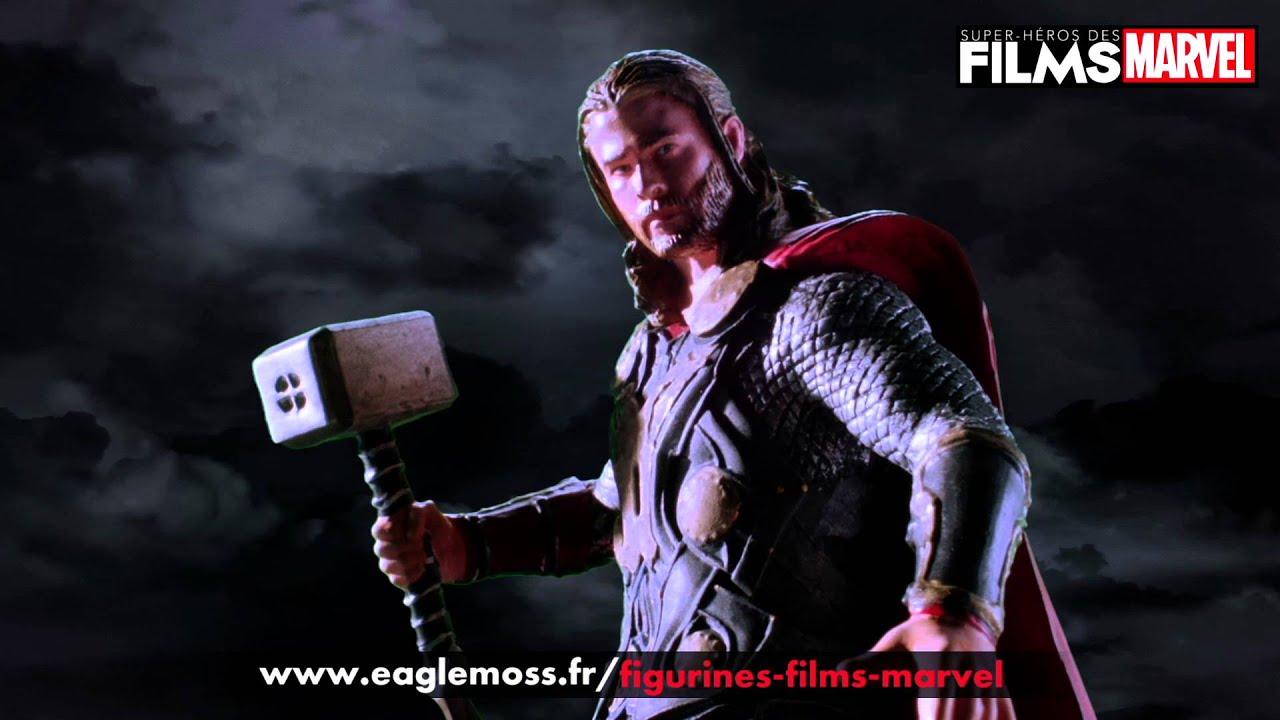 La Collection des Super-Héros des Films Marvel - YouTube