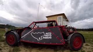 Auto Moto Parko bagis - Red Shark