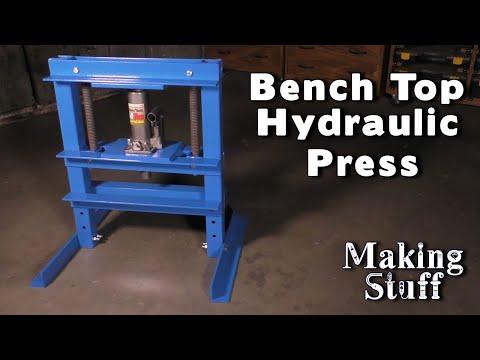 DIY Bench Top Hydraulic Press