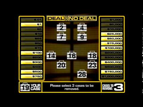 deal or no deal presentation software, Powerpoint