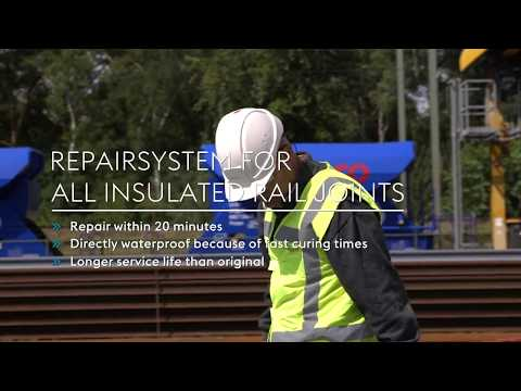 Repair system insulated rail joints (English - English subtitles version)