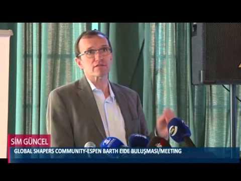 GLOBAL SHAPERS COMMUNITY-ESPEN BARTH EIDE BULUŞMASI/MEETING