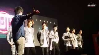 [Fancam] 150321 GOT7 Fanmeeting in KL Malaysia - Intro and Traditional Dance