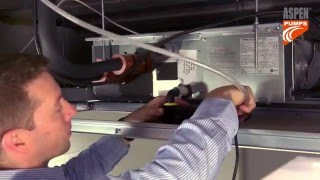 видео Купить дренажный насос помпу для отвода конденсата от кондиционера, фанкойла Mini Orange SILENT (Aspen Pumps) Украина низкая цена