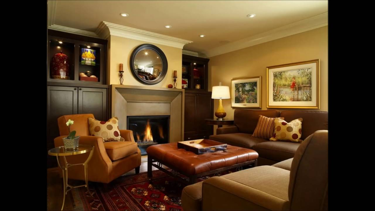 Perfect Basement Wall Color Family Room Mini Bar Basement ...