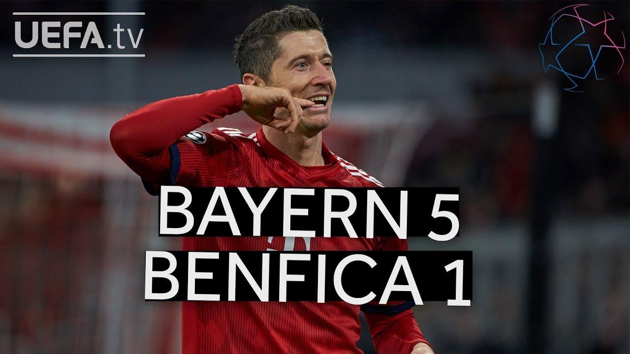 Download BAYERN 5-1 BENFICA #UCL HIGHLIGHTS