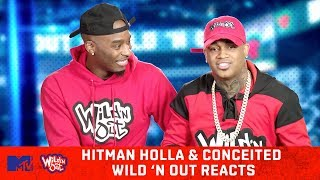 Hitman Holla & Conceited Judge Their Wild 'N Out Auditions 😂 | Wild 'N Out Reacts | MTV