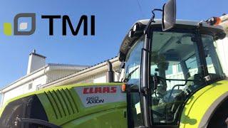 Самый популярный трактор / CLAAS AXION 850 / Обзор TMI