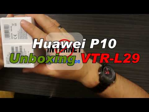 Huawei P10 VTR-L29 [Unboxing]