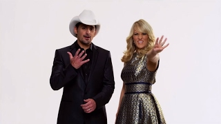 CMA Awards 2015 Brad & Carrie Promo | CMA Awards 2015 | CMA