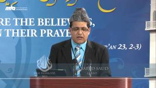 Recitation of The Holy Quran with Translation - 2nd Day Jalsa Salana USA West Coast 2013