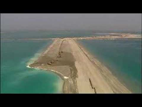 Dubai Waterfront areal video by Nakheel