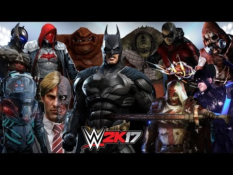 GOTHAM CITY ROYAL RUMBLE WWE 2K17