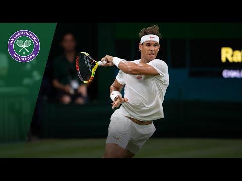 Rafa Nadal & Novak Djokovic's crazy 23-shot tie-break rally | Wimbledon 2018