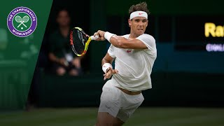 Rafa Nadal & Novak Djokovic's crazy 23-shot tie-break rally | Wimbledon 2018