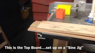 Making A Bandsaw Jig For Scribing The Radius On Ukulele Dovetails
