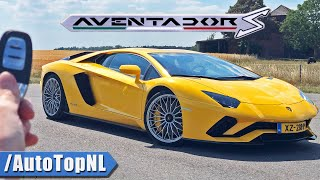 Lamborghini Aventador S V12 REVIEW *348KM/H* on AUTOBAHN [NO SPEED LIMIT] by AutoTopNL