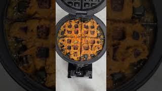 와플기계로 제육볶음 누룽지처럼 바삭하게 먹는 방법?!