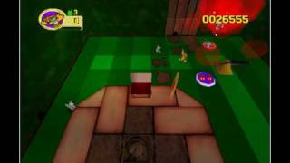 Rat Attack! - Garden (Nintendo 64 game)