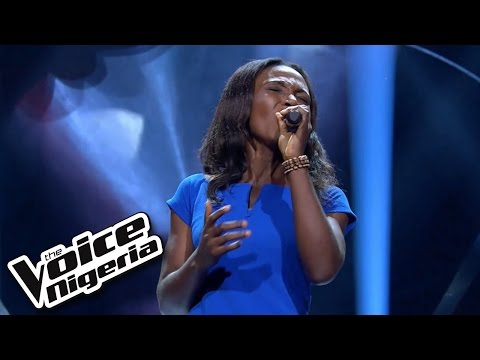 Happiness Itua sings 'I Love You, I Do' / Blind Auditions / The Voice Nigeria 2016