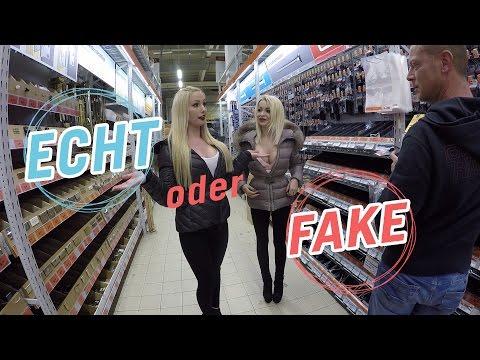 ECHT oder FAKE?  BOOBS CHECK mit Katja Krasavice   | LUCY CAT