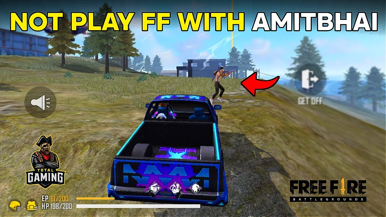 HOW TO NOT PLAY FREE FIRE WITH AMITBHAI(DESI GAMERS)   GARENA FREE FIRE