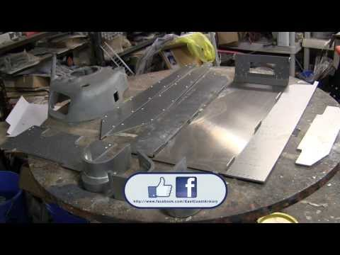 1/6th scale RC Armortek M4A4 sherman tank project video #1 (project start / unboxing)