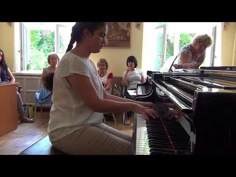 05.08.2017 Anna Dusmuratova. II-nd International Summer School, Moscow