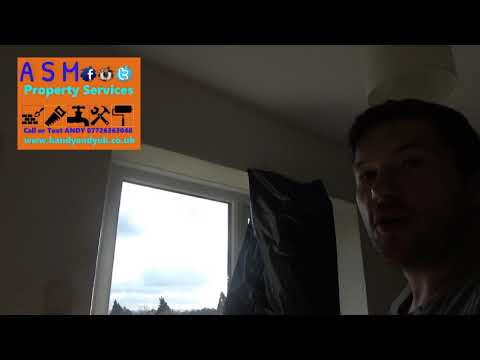 D. I. Y. Vlog - how to put a batten up for curtain pole - By Handy andy - No1 Handyman