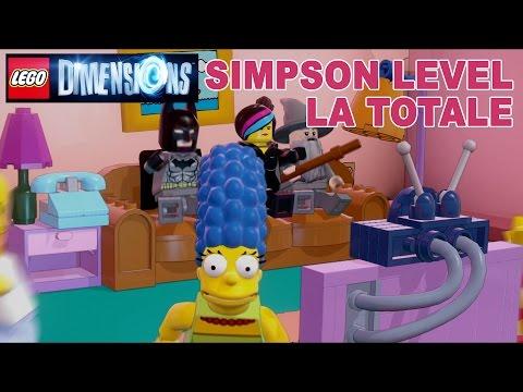 [PS4 LEGO DIMENSIONS] Simpson Mode Aventure Complet - Studio Bubble Tea Gaming