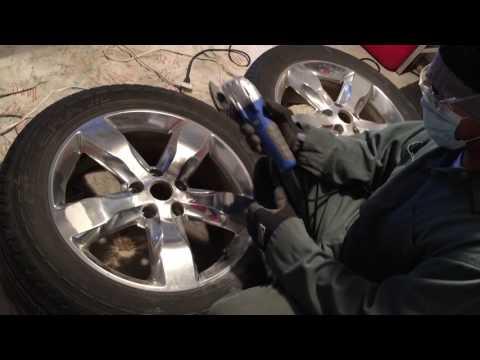 """Repairing Oxidized Aluminum 20"""" Rims"""