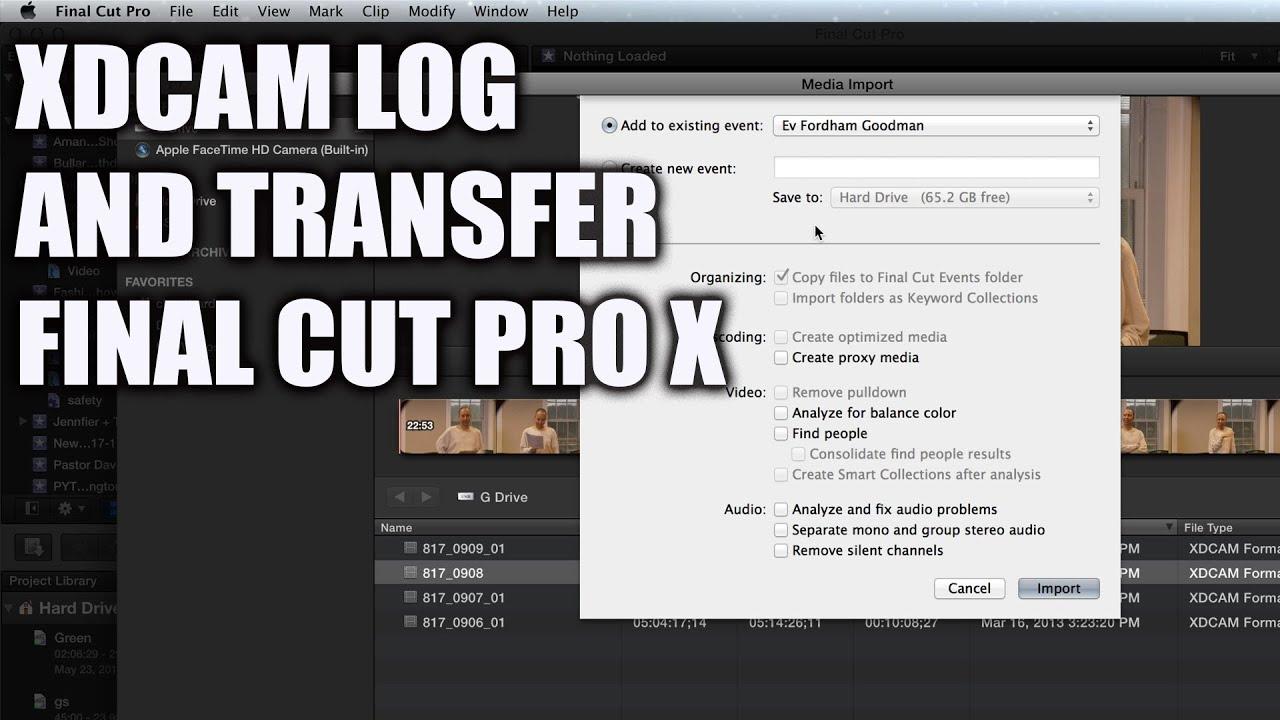 Sony xdcam transfer download for windows