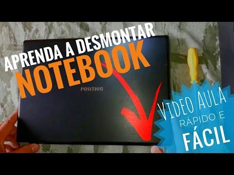 Como desmontar Notebook