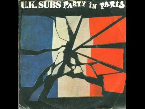 uk subs party in paris