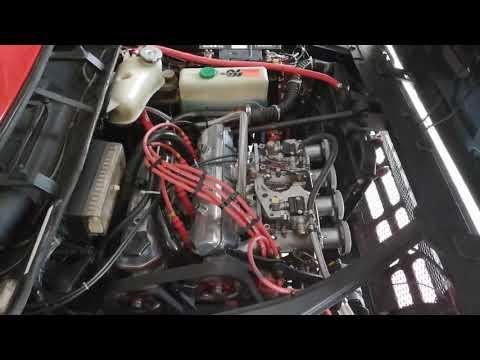 Lancia Beta Twin Carbs