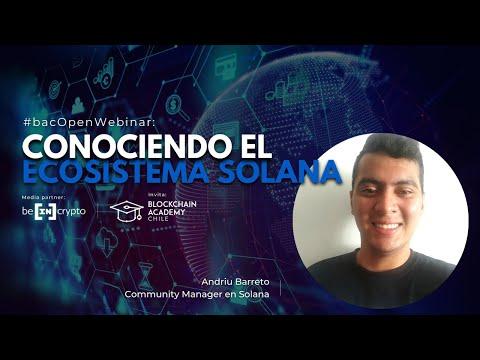 #bacOpenWebinar: Conociendo el ecosistema de Solana