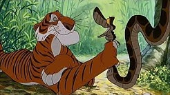 "The Jungle Book (1967) Scene: ""Searching for a Man-Cub""/Shere Khan & Kaa."